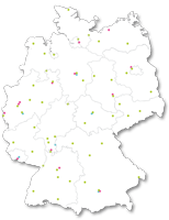 Map of Germany WPQR EN 1090